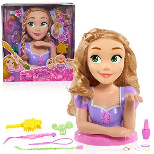 Disney Princess - Testa per acconciare i Capelli, Principesse Disney