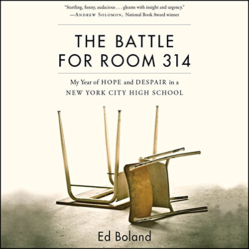 The Battle for Room 314 audiobook cover art
