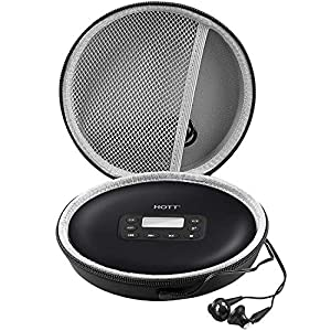 Case Compatible for HOTT Rechargeable Portable CD Player, CD711 / CD611 / Gueray/Soulcker/NAVISKAUTO Personal Compact Disc Player