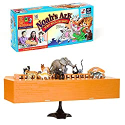 "Noah's Ark ""Don't Rock the Boat"" Educational Tabletop Balancing Game"