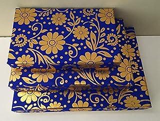 10 Rectangular Gift Boxes, Indian Weddings, Diwali Gift, Fancy Gift Box, Indian Sweets or Mithai Box, Party Favors, Mehndi...
