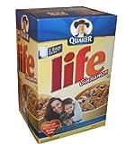 Quaker Life Cinnamon Cereal 62 Ounce Value Box