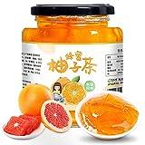 Honey Citron Tea, Pure Raw Unfiltered Natural Jam, Genuine Honey, Classic Korean Flavor: Citrus Orange Blossom, Gluten-Free, Non-GMO, Birthday Gift for Hostess, Co-Worker, Sons, for Salad (17.6 oz)