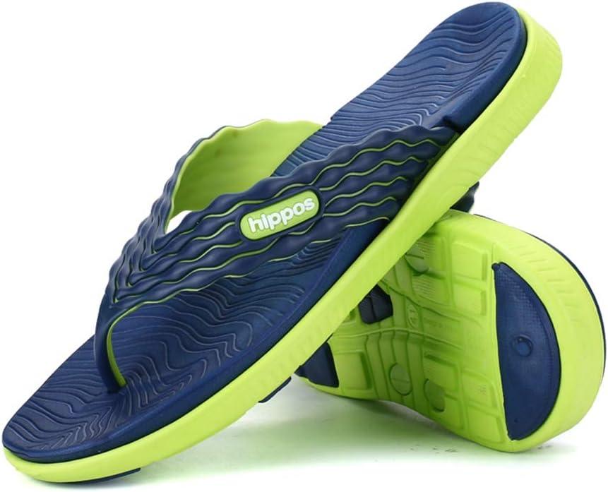 QWE Unisex Sneakers - Summer Slip-on Flip-Flops Summer Personality Flip-Flops Men's Beach Sandals and Slippers Men