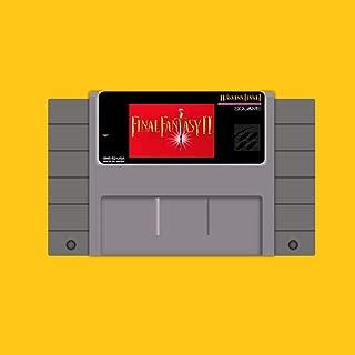 HTTHa Ltd Final Fantasy 2 Save 16 Bit Big Gray Game Card For Usa Ntsc Game Player