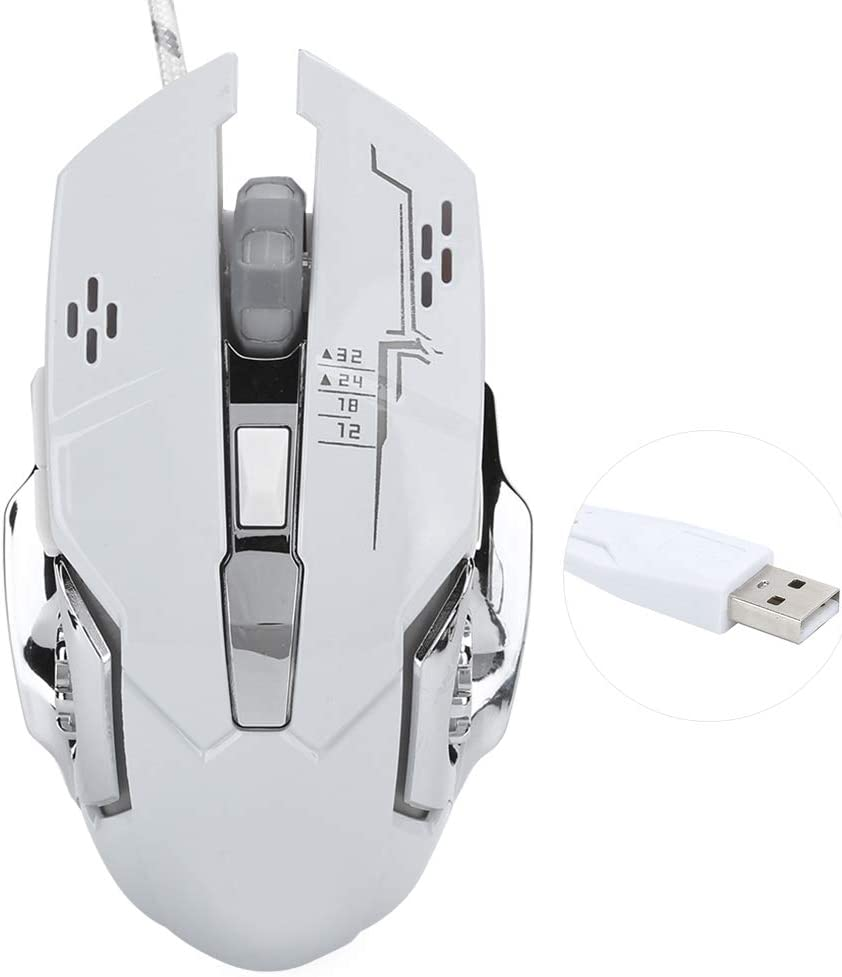 Optical Animer High quality new and price revision Silent Computer Mouse Wired PC Comput for Gaming