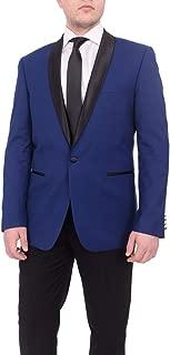 Men's Slim Fit Shawl Lapel 1 Button Tuxedo Set - (Blazer & Pants)