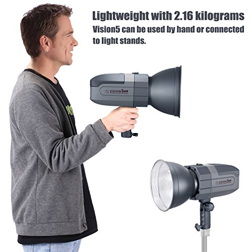 Neewer VISION5 400Ws 2.4G TTL Flash Strobe Compatible with Canon DSLR Cameras,...