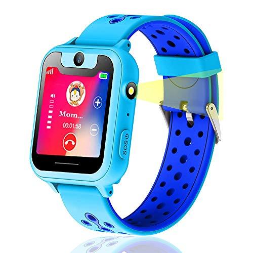 Kids Smart Watch, GPS Tracker Smart Watch Phone per...