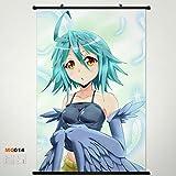 Home Decor Anime Monster Musume No Iru Nichijou Papi Wall Scroll Poster Fabric Painting 23.635.4 inch 14 b2