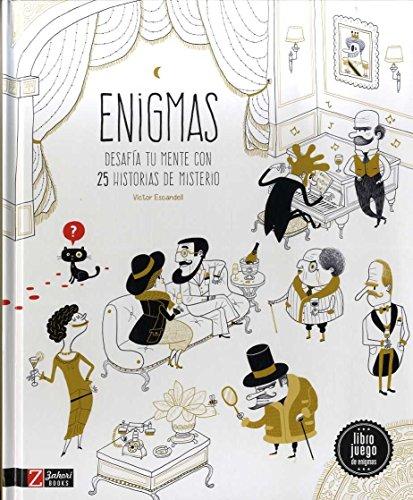 Enigmas: Desafia tu mente con 25 historias de misterio