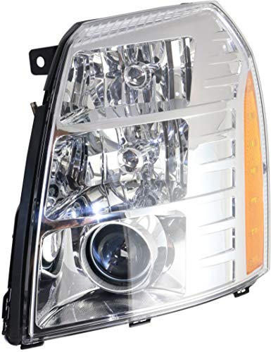 Headlight for ESCALADE 07-14 LH Assembly HID w/HID Kit Type 2 w/Bulb(s) Driver Side