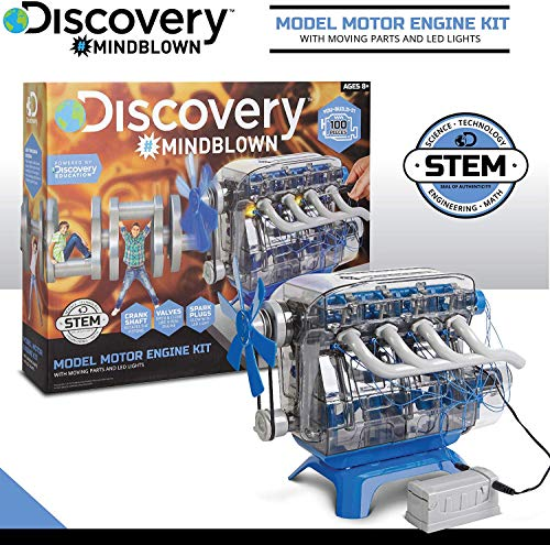MindBlown DIY Model Engine Kit - Mechanic Four Cycle...