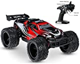 Haktoys HAK188 1:12 Scale High-Speed 22 MPH AWD 2.4GHz Off-Road RC Stunt Buggy Monster Truck Crawler Car | Colors May Vary | Safe and Durable | Great Gift for Kids, Teens, and RC Hobby Enthusiasts