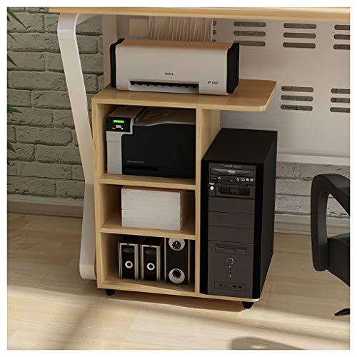 Printe Cart Machine Stand Soporte de sobremesa for la unidad de impresión estante principal Oficina del Gabinete de piso Lugar Gabinete multi-capa móvil de impresora de escritorio soporte 3 colores So