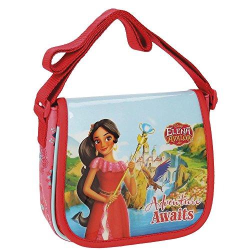 Disney Elena De Avalor Adventure Umhängetasche, 17 cm, 1.02 liters, Mehrfarbig (Varios Colores)