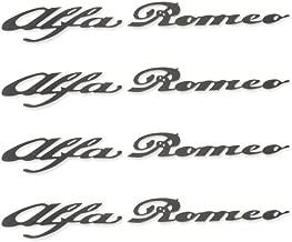 Best alfa romeo caliper decals Reviews