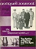 The Antiques Journal: January 1971, Vol. 26, No. 1: The Ravcas' Lilliputian World; Tea Kettles of the Iron and Tin Ages