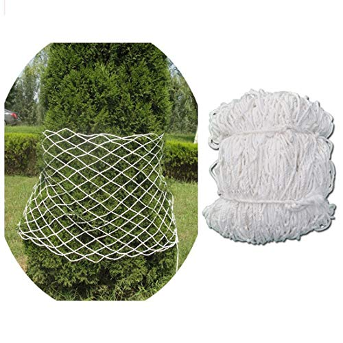 Child Safety Net Protection Climbing Frames Large Net for Kids Stuffed Animals Bedroom/Room Net Soccer Goal Replacement Trellis Netting For Climbing Plants 6mm/5cm White Multi-size ( Size : 5x8m )