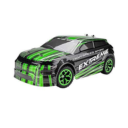 ZAKRLYB Alta Velocidad 18 km/h 2.4 GHz Camión de Control Remoto 1:18 Escala Radio Conrtolled Off-Road RC Coche Monstruo electrónico inalámbrico R/C RTR Hobby Toys Car Buggy para Regalo de niños