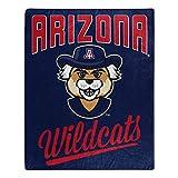 The Northwest Company Arizona Wildcats Alumni Raschel Throw Blanket, 50' x 60', Team Colors, one Size (1COL070500051RET)