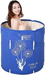 WYJBD Household Inflatable Bathtub, Lifting Thick Folding PVC Bath Tub for Four Seasons Available