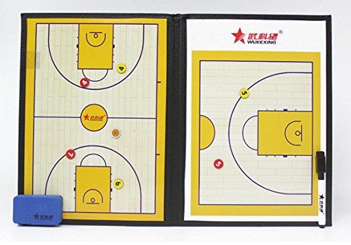 Allenatore di basket basket bordo magnetico pieghevole Training Board