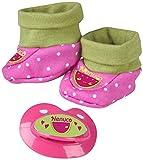 Nenuco–Pack de Sandales pour poupées Chaussons
