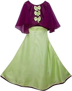 Hopscotch Zinger Silk Lehenga and Blouse for Girls
