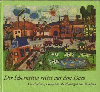 Der Schornstein reitet auf dem Dach