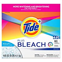 Laundry Detergent with Bleach、元香り、パウダー、144オンスボックス