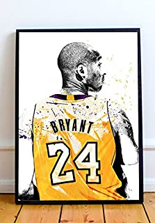 Kobe Bryant Limited Poster Artwork - Professional Wall Art Merchandise (More Sizes Available) (8x10)