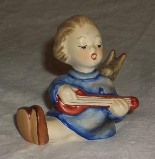 Goebel Hummel Angel Sitting Playing Lute
