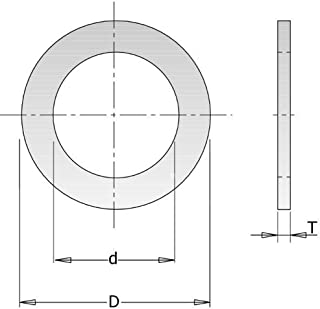 CMT Orange Tools 299.227.00 - Anillo reduccion d 30-20mm esp 2mm
