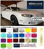 Könighaus, pellicola autoadesiva opaca, senza bolle, 200 x 152 cm, colore turchese, con istruzioni (lingua italiana non garantita)