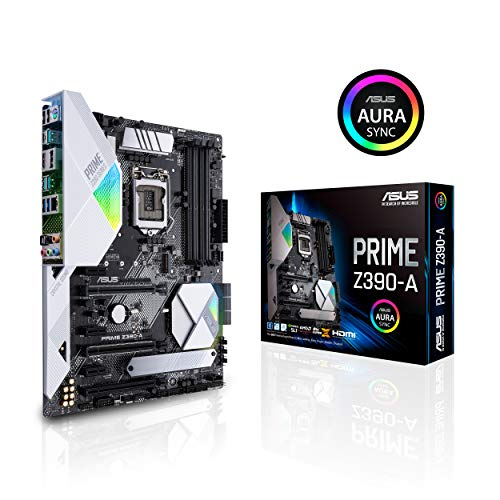 ASUS Prime Z390-A Gaming Mainboard Sockel 1151 (ATX, Intel Z390, 4x DDR4-Speicher, USB 3.1, M.2 Schnittstelle)