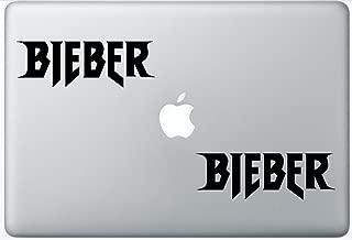Justin Bieber Logo FlashDecals2768 Set Of Two (2x) , Decal , Sticker , Laptop , Ipad , Car , Truck