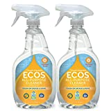ECOS All Purpose Cleaner, Orange, 22oz Bottle by Earth Friendly Products (Pack of 2)