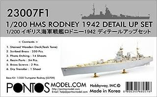 Pontos Model.com 1/200 HMS Rodney 1942 Detail Up Set 23007F1