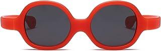 GWQDJ - Gafas De Sol Flexibles De Goma Gafas De Sol Polarizadas Protección UV Eyewear PC Lens para Niños Y Niñas Edad 3-12