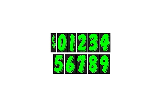 Best Number Decals For Cars Amazon Com