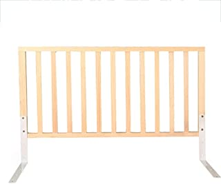 Solid Wood Bed Rail for Baby, Portable Folding Bed Rail Single Bed Guard Safety Protection Guard for Toddler Baby and Children (Size : 60cm)
