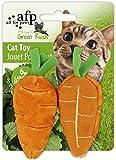 Green Rush Katzenspielzeug mit Catnip All Natural - Karotte -