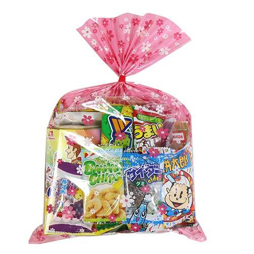 花柄袋 510円 お菓子 詰め合わせ(Aセット) 駄菓子 袋詰め おかしのマーチ