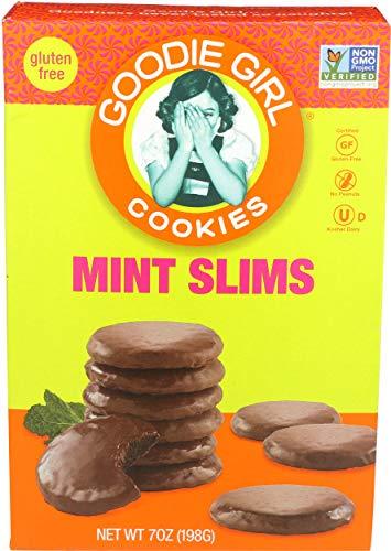 Goodie Girl Mint Slim Cookies, 7 Ounce