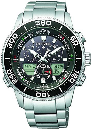 Citizen Reloj para Hombre de Cuarzo con Correa en Acero Inoxidable JR4060-88E