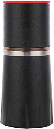 NJYDQ Mini Compact Portable Travel Coffee Machine, Coffee Power & K-cup Capsule, Automatic Coffee Maker, Coffee Lovers Gift, for Commuter Camping