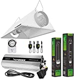 VIVOSUN Hydroponic 600 Watt HPS MH Grow Light Air Cooled Reflector Kit - Easy to Set up, High Stability & Compatibility ( Enhanced Version )