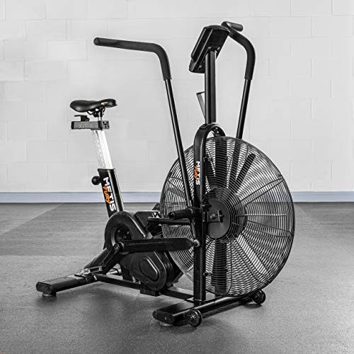 METIS FURY Air Exercise Bike | Air Bike - Cardio Equipment With Air Resistance | Stationary Bikes...