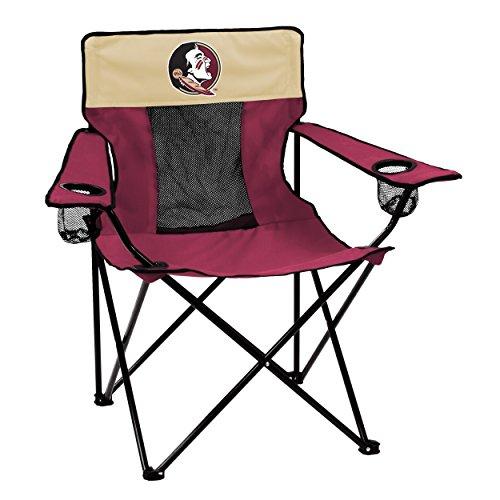 Logo Brands Collegiate Florida State Seminoles Elite Chair, Red, Adult